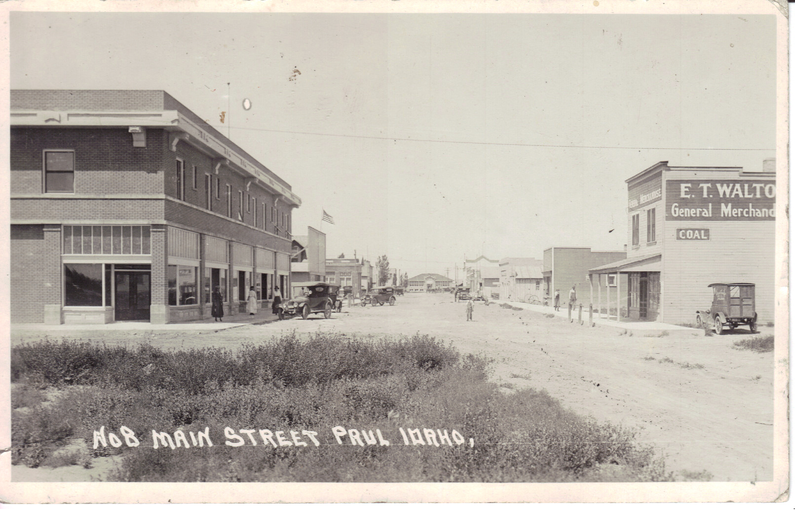Main street, Paul, Idaho